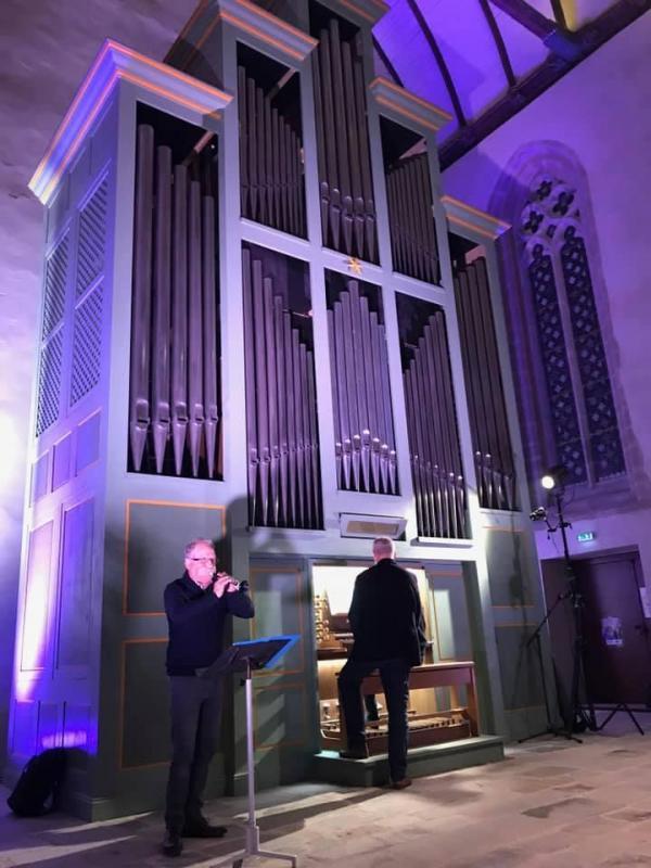 Duo bomb orgue